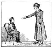 a scolding