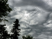 clouds in turmoil