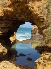 cave on the beach