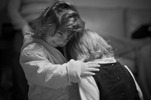 embrace of a friend